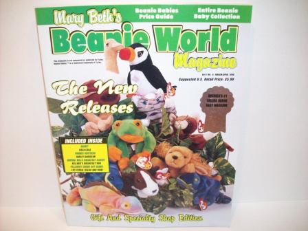 Mary Beth's Beanie World Magazine Vol. 1, No. 4 March/April, 199
